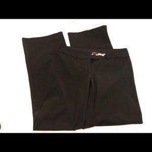 Ann Taylor LOFT Marisa Trouser in black size 2S